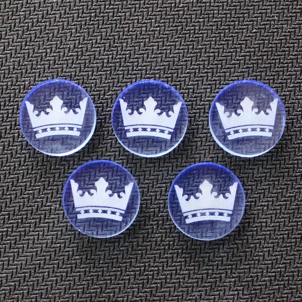Niebieskie żetony władzy (5 sztuk)